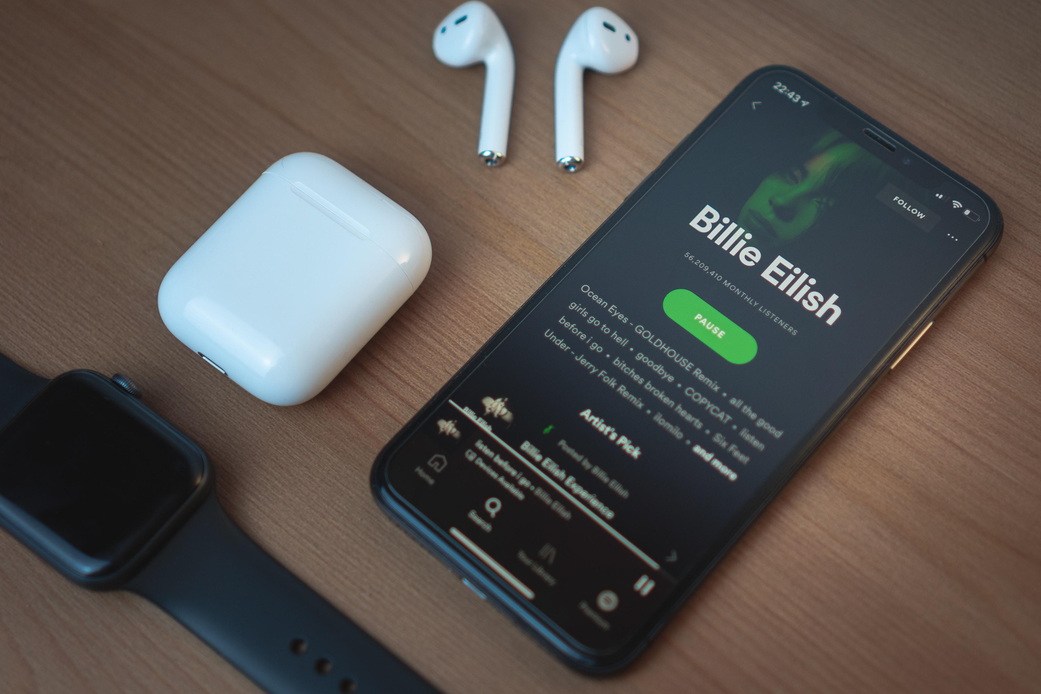 Youtube Music, Apple Music, Spotify 简单使用体验