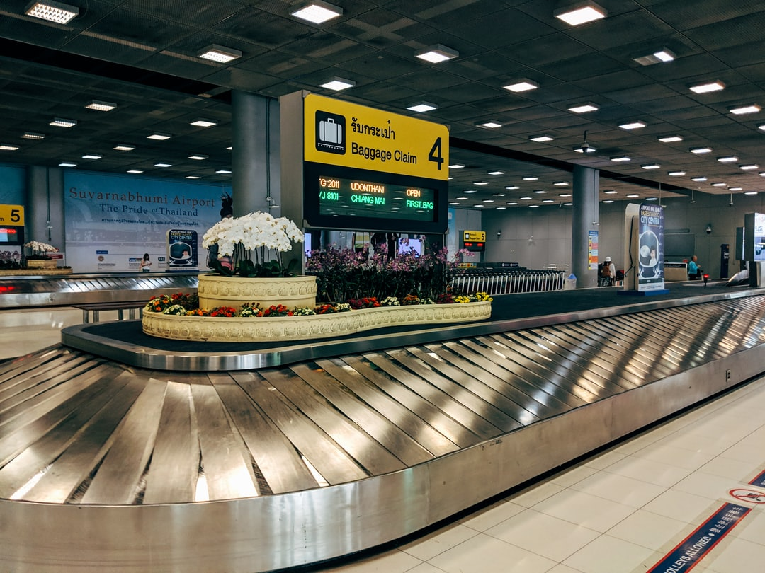 Baggage Claim at Bangkok-Suvarnabhumi airport