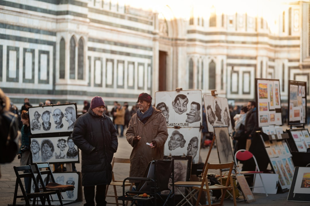 Street Artists in Florence