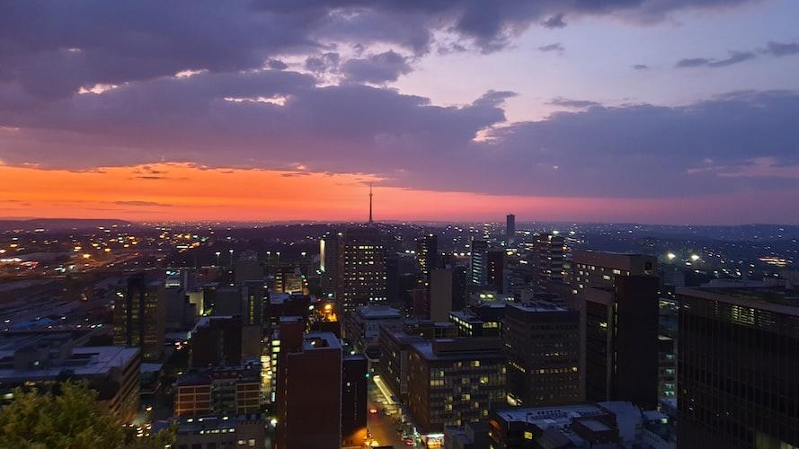 Skyline of Braamfontein