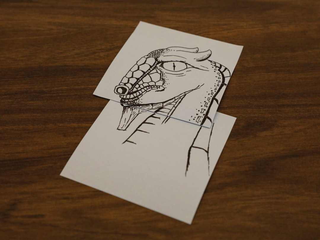 You might find a dragon anywhere I suppose. I found one on post-its in one of my office conference rooms. A nice mixed media dragon on two overlapping post-its. Nice!