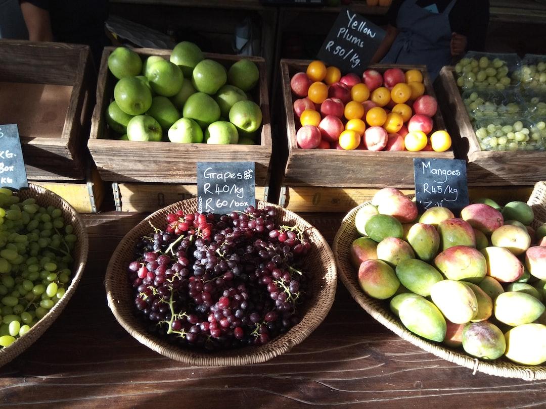 Organic fruit Fresh Farmers Market