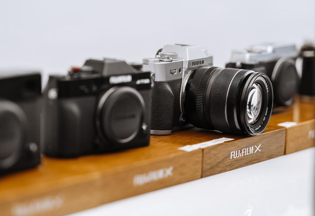 Fujifilm Cameras - unsplash