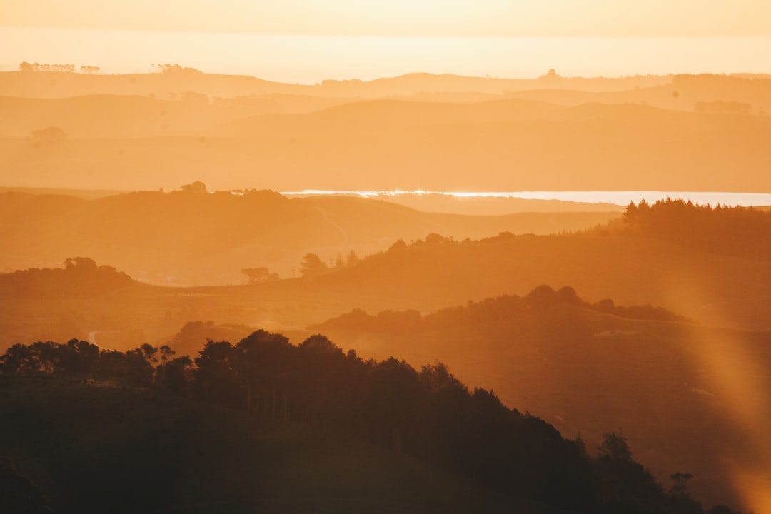 Sunset In the Hills - unsplash