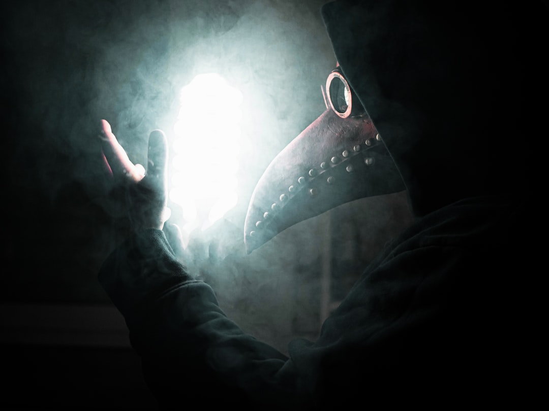 A plague-doctor controlling his power!