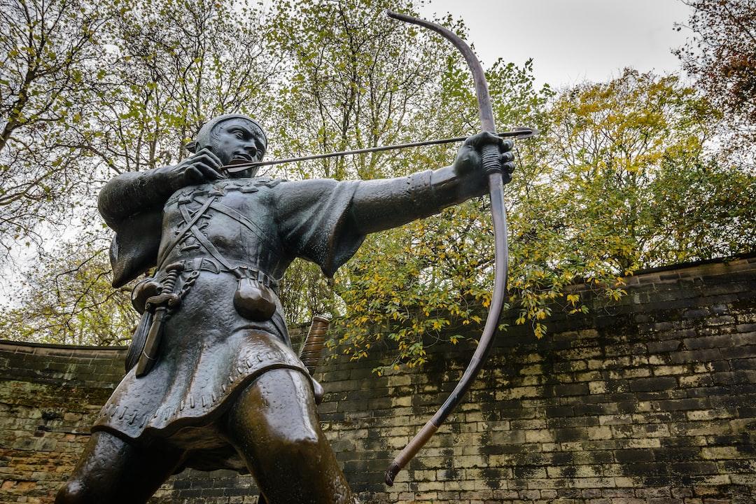 Robin Hood statue, Nottingham, England