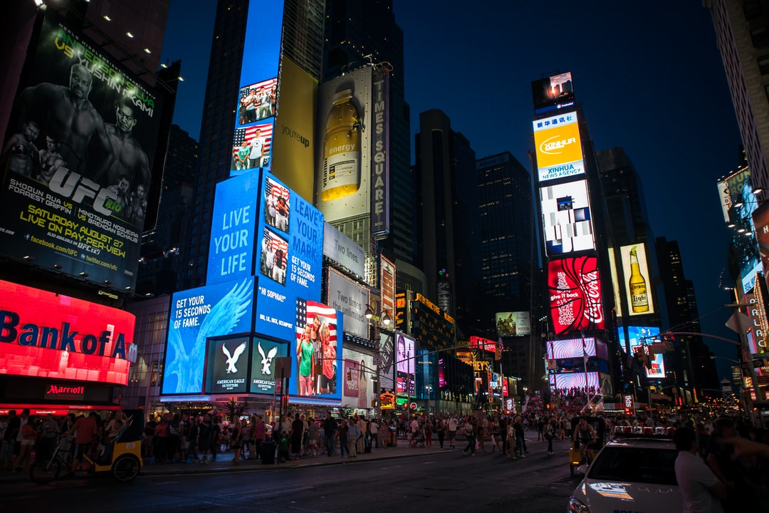 Times Square at night, wonderful. The most perfect example of the city that never sleeps.