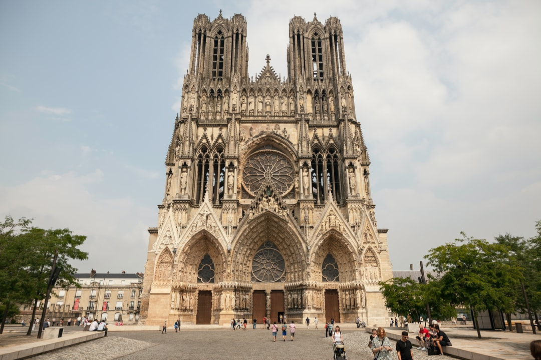 Reims' cathedral