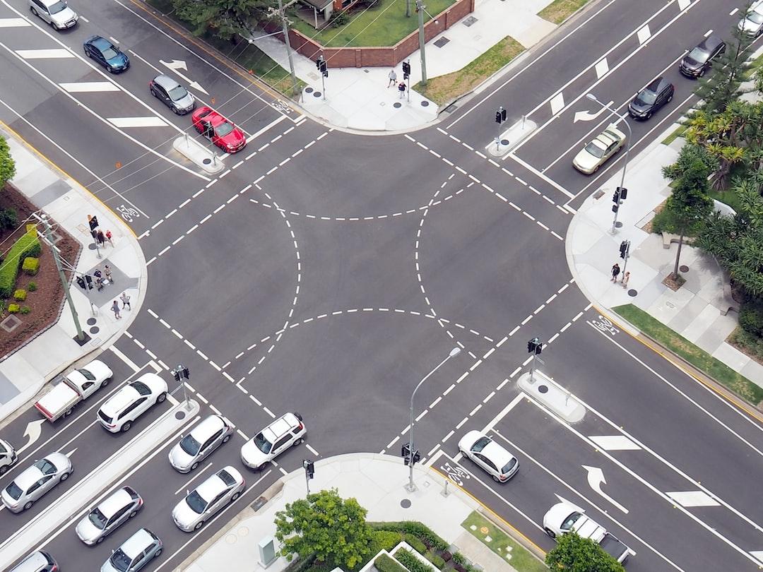 Traffic. Cars. Roads. Crossroads