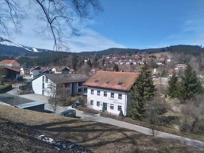 Bayerisch Eisenstein, view from a hill