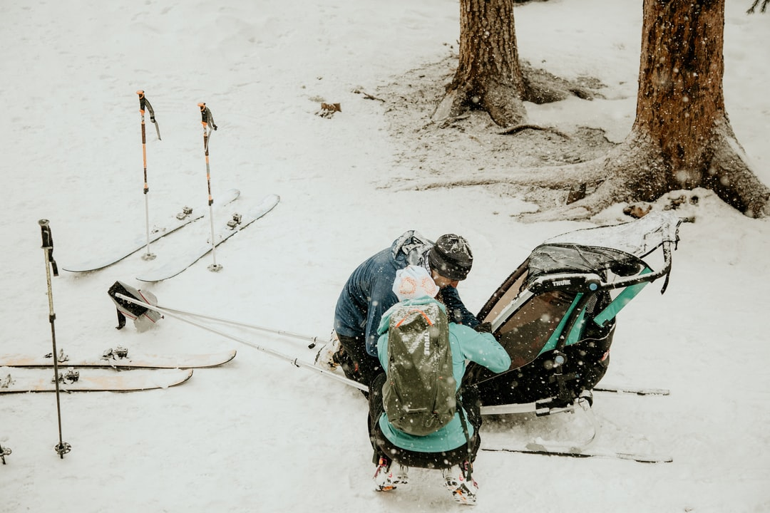 Backcountry skiing adventure outside of Winter Park, Colorado