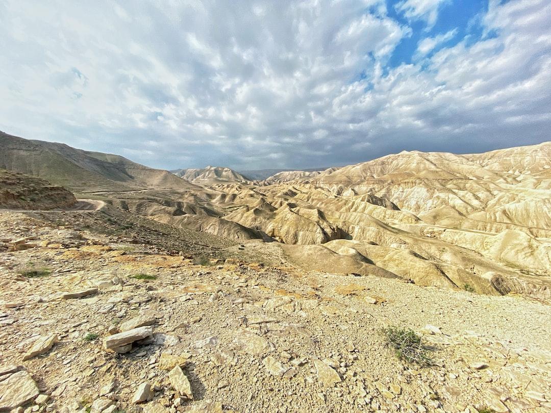 Wandern im Westjordanland