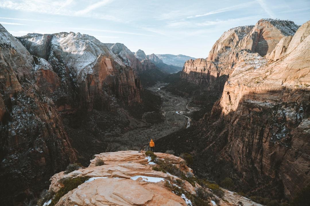 Zion National Park, Utah - unsplash