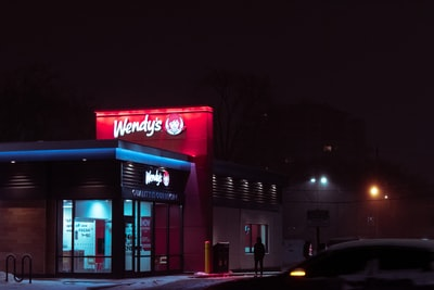 Wendy's Frosty Is Actually Cumming On The Bottom Of Her Tit...