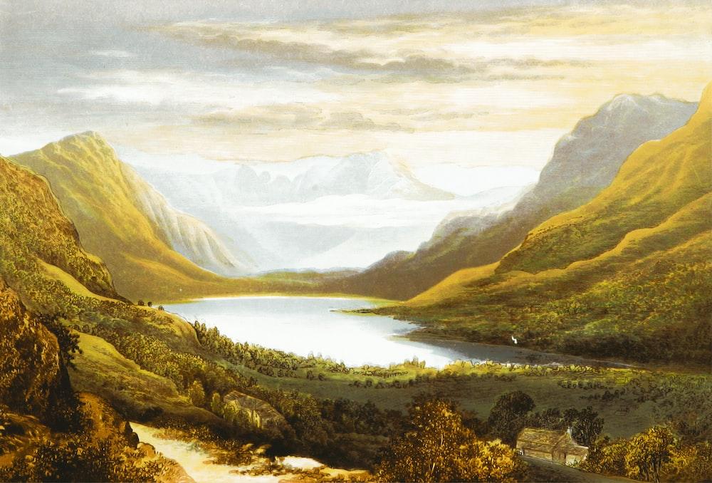 Landscape Painting Pictures Download Free Images On Unsplash
