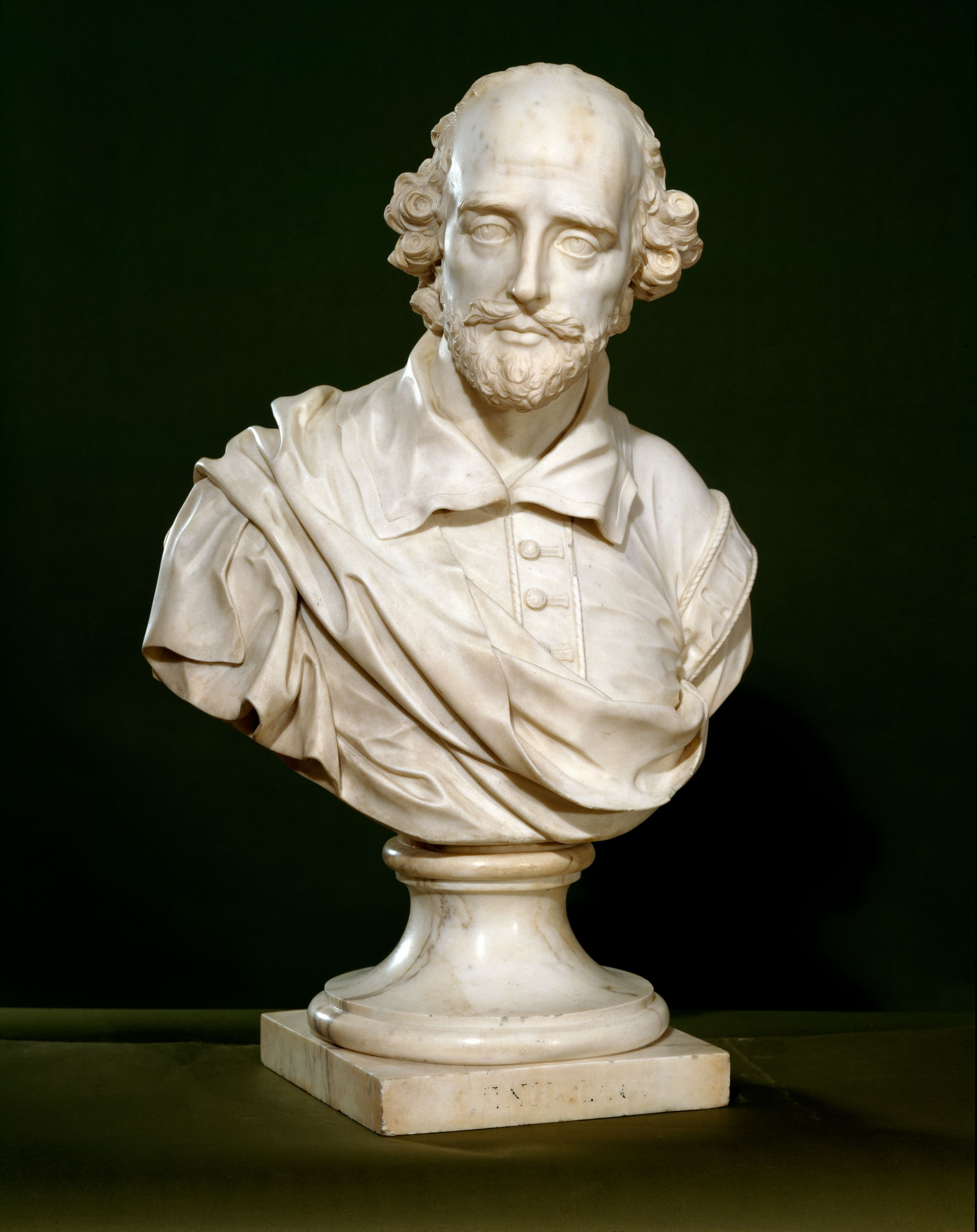 Bust of William Shakespeare (1564-1616), 1760. Sculptor: John Michael Rysbrack
