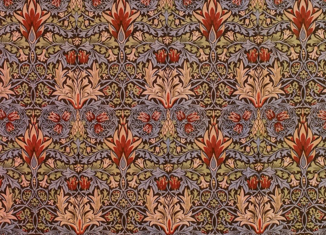 Snakeshead, 1876-77. Designer: William Morris. Manufacturer: William Morris & Co.