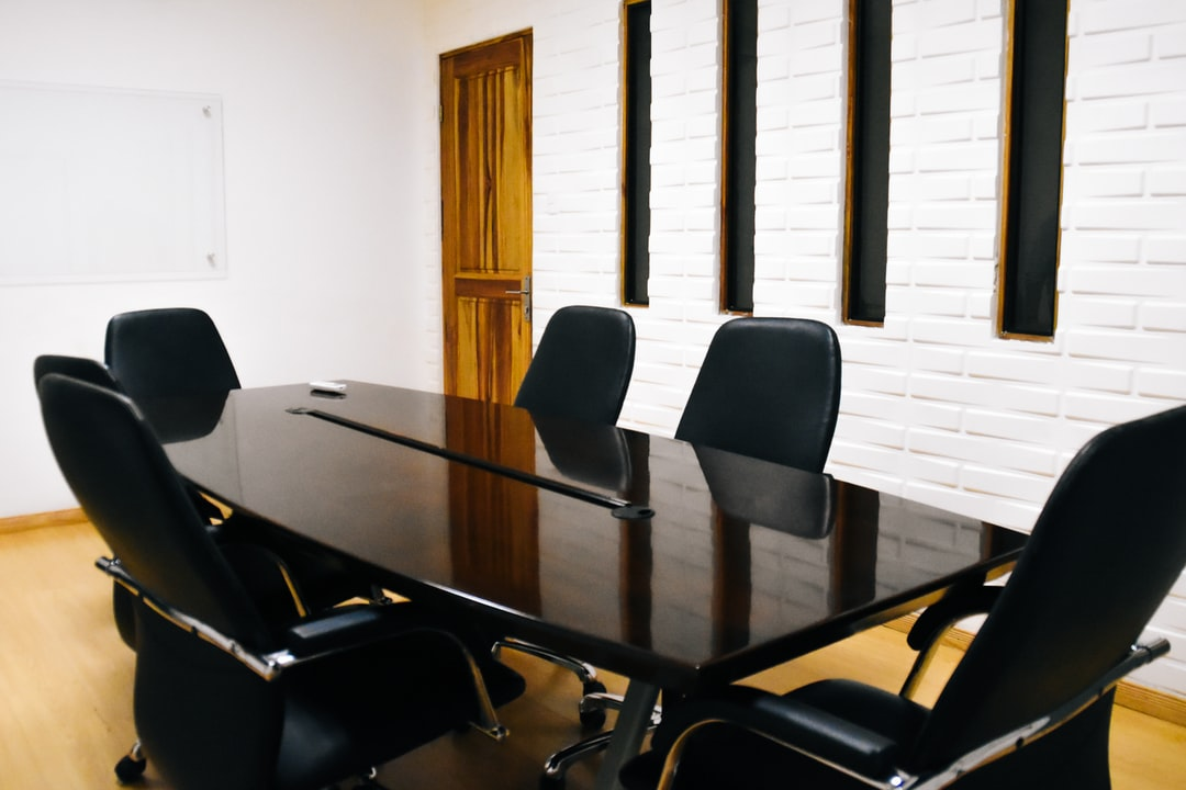 Coworking space meeting room for business planning and trainings