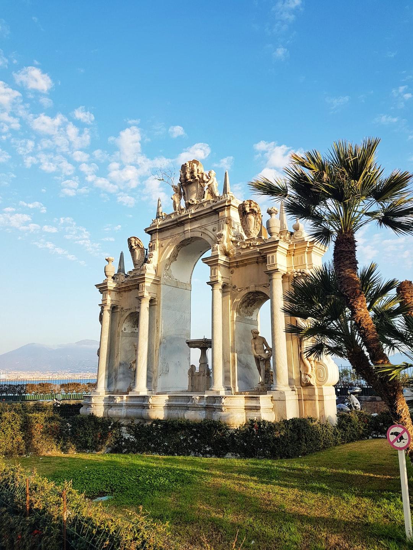 The Fontana del Gigante in Naples, Italy. For more visual travel inspiration visit our instagram: https://www.instagram.com/reiseuhu/