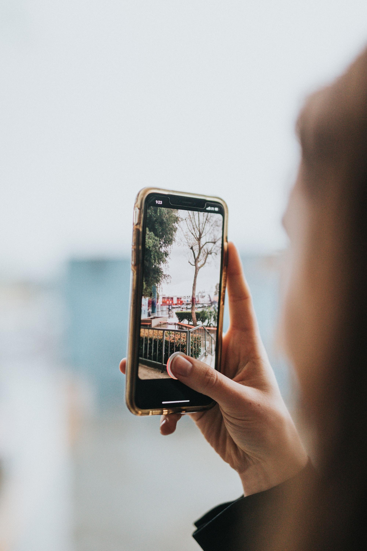 Съемка панорамы на мобильный телефон