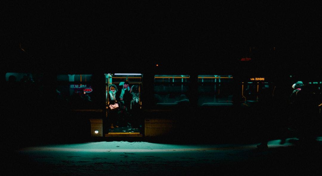 Snowy nights in transit.