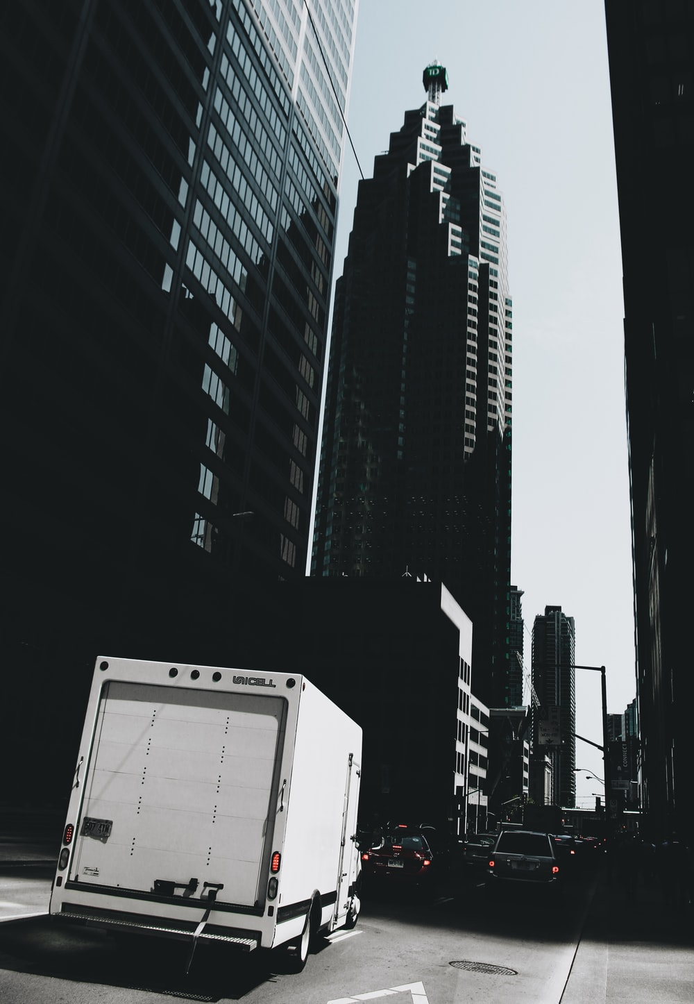 white and black high rise buildings during daytime