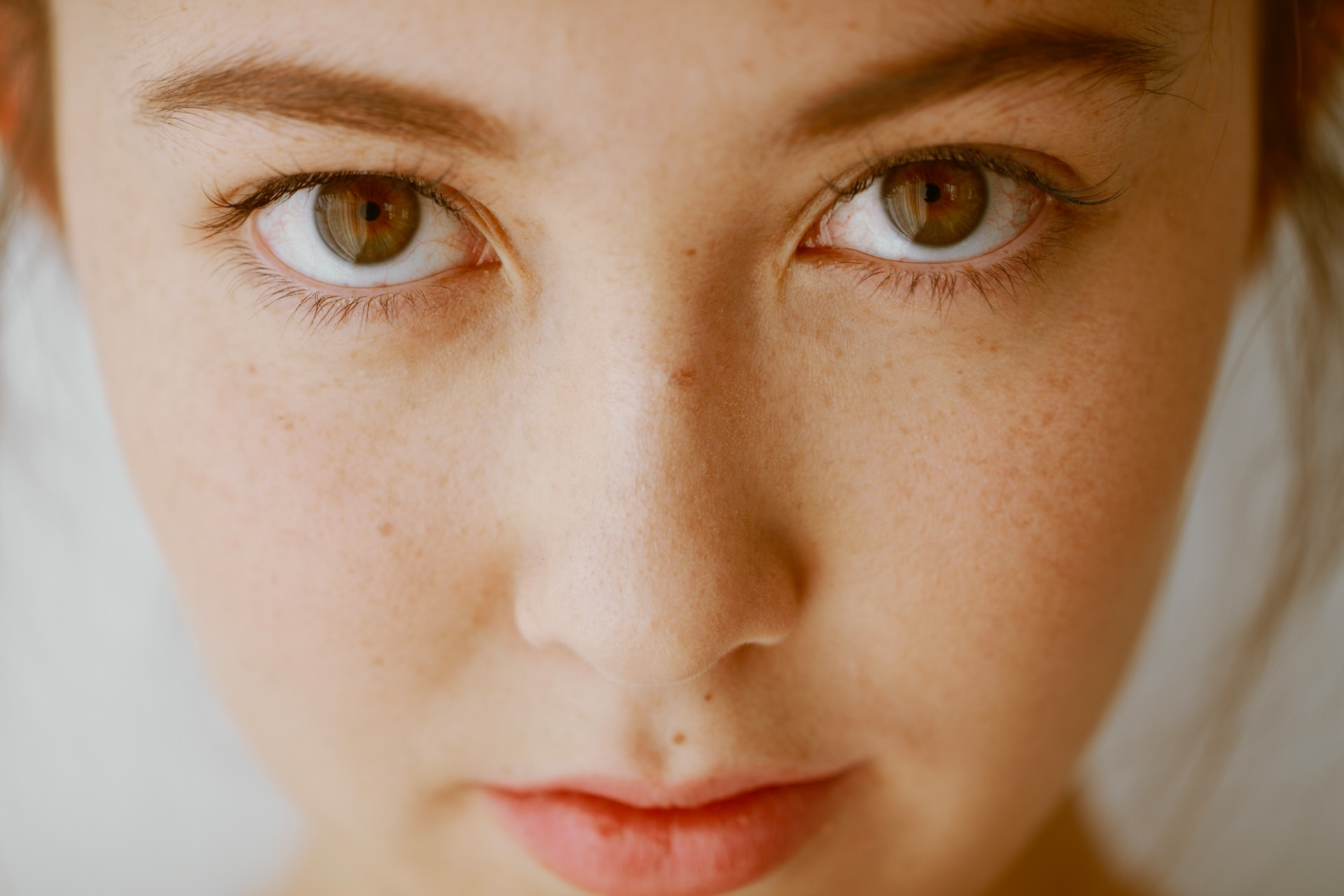 close up photo of boys face
