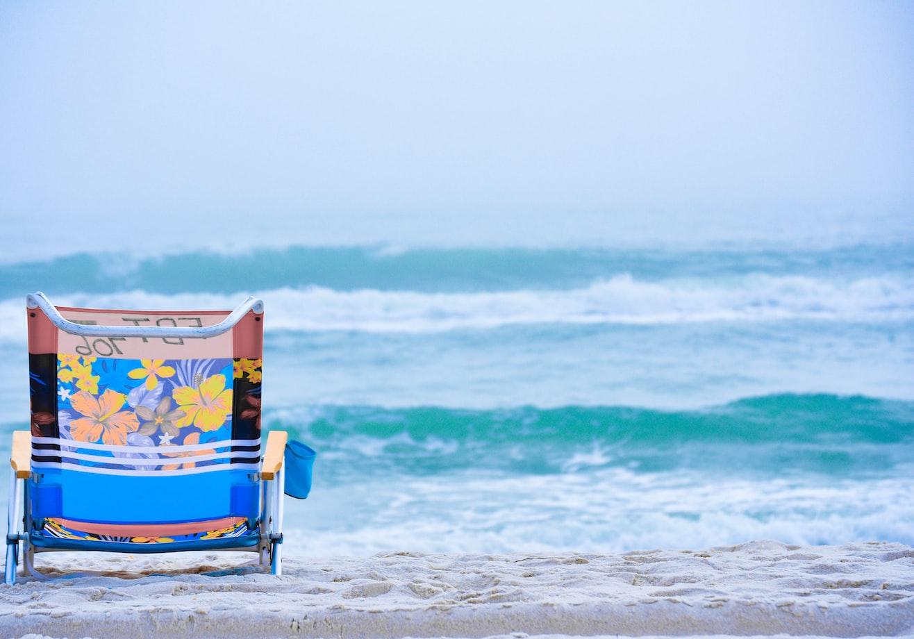 beach packing items