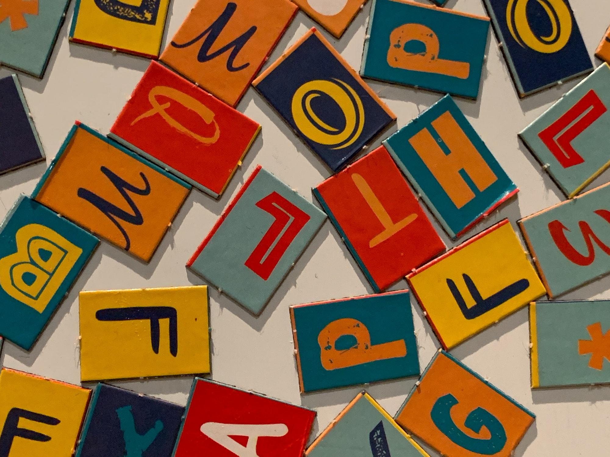 Arabic vs Roman Alphabets