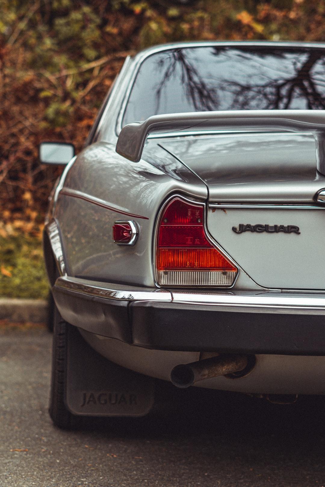 Parked Jaguar