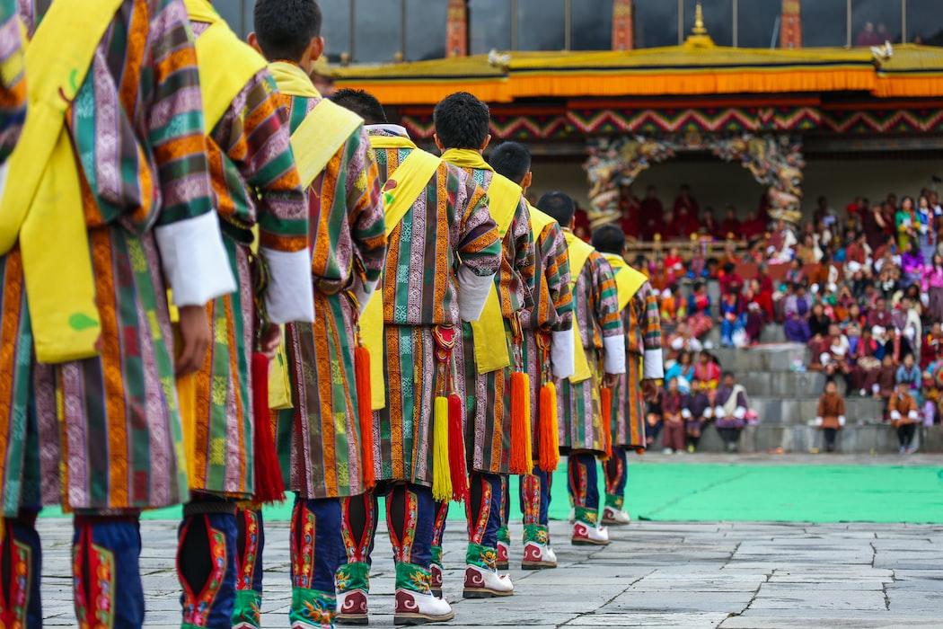 Festival at Thimpu, Bhutan