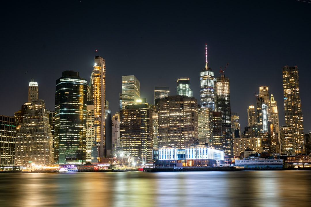 Night View of New York - unsplash