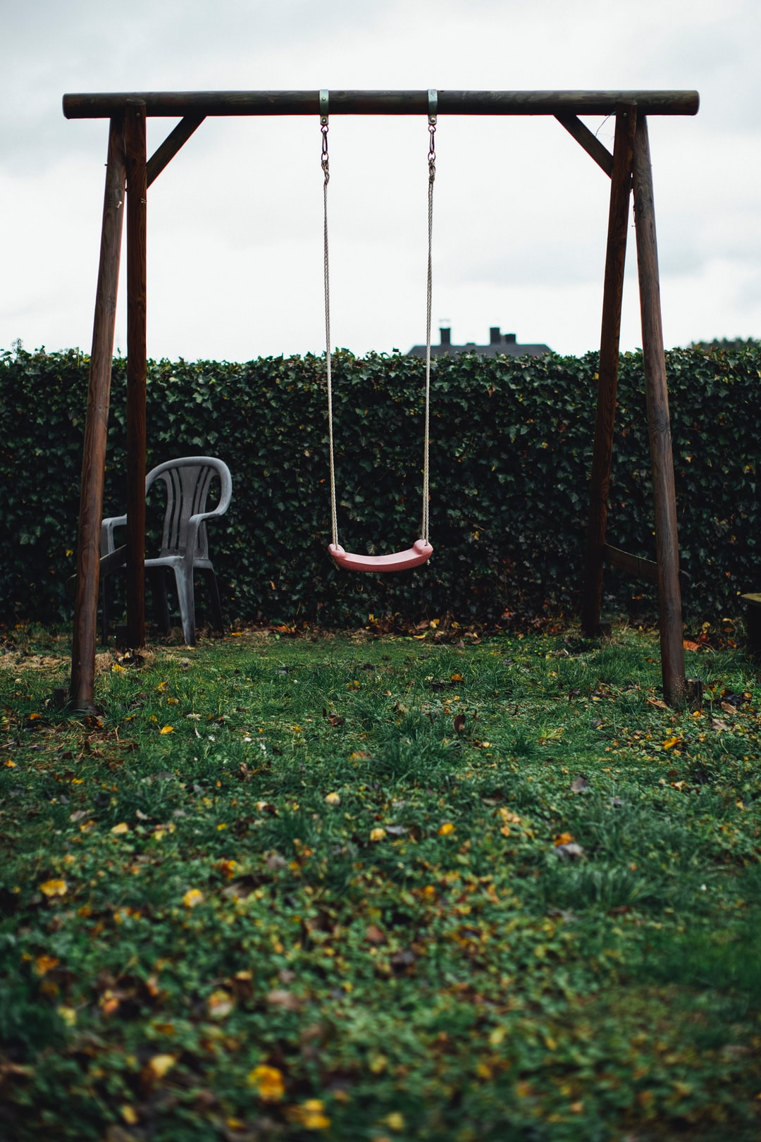 Vintage swing playground