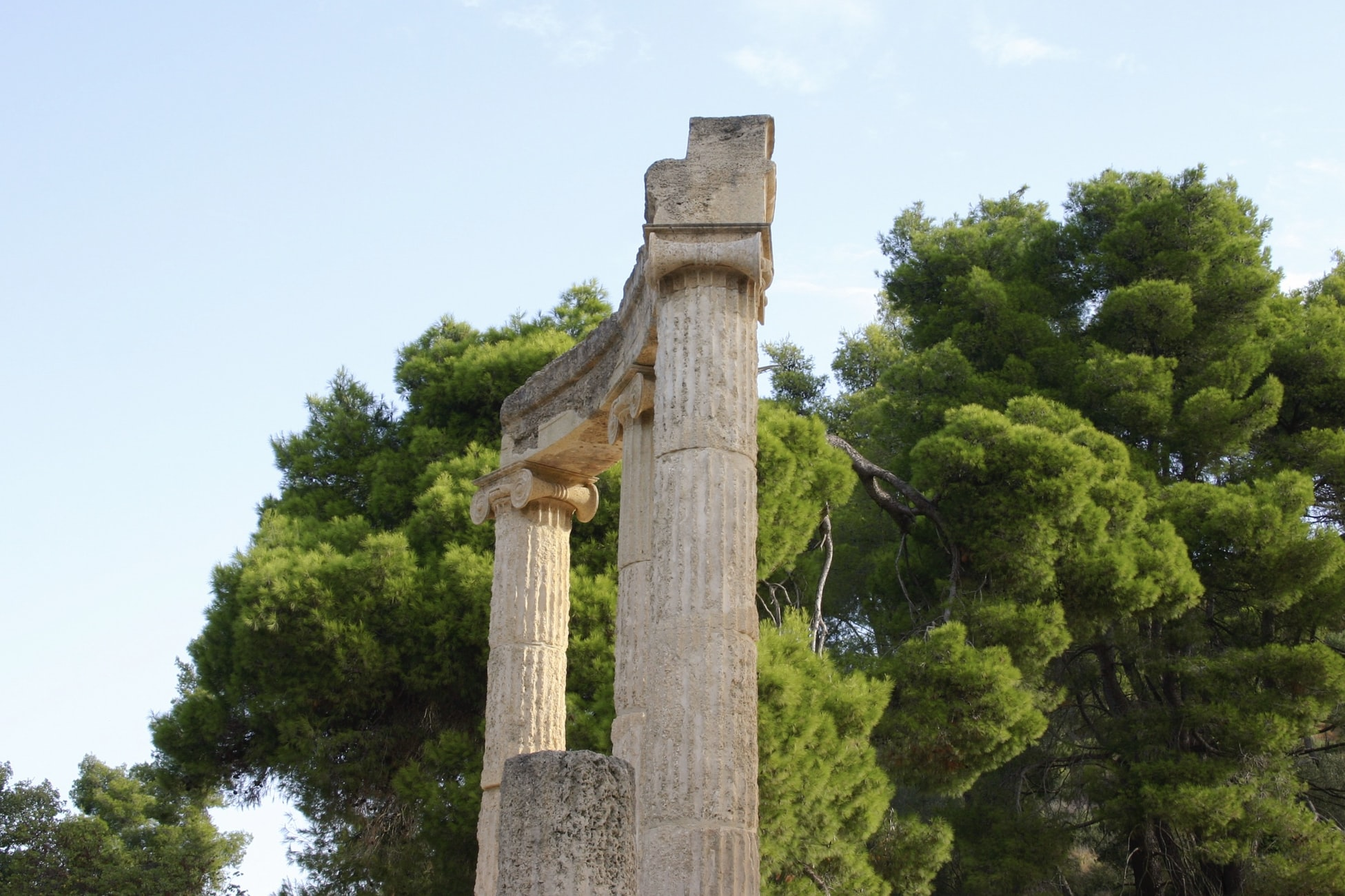 Archeological site of Olympia, Heritage sites in Greece