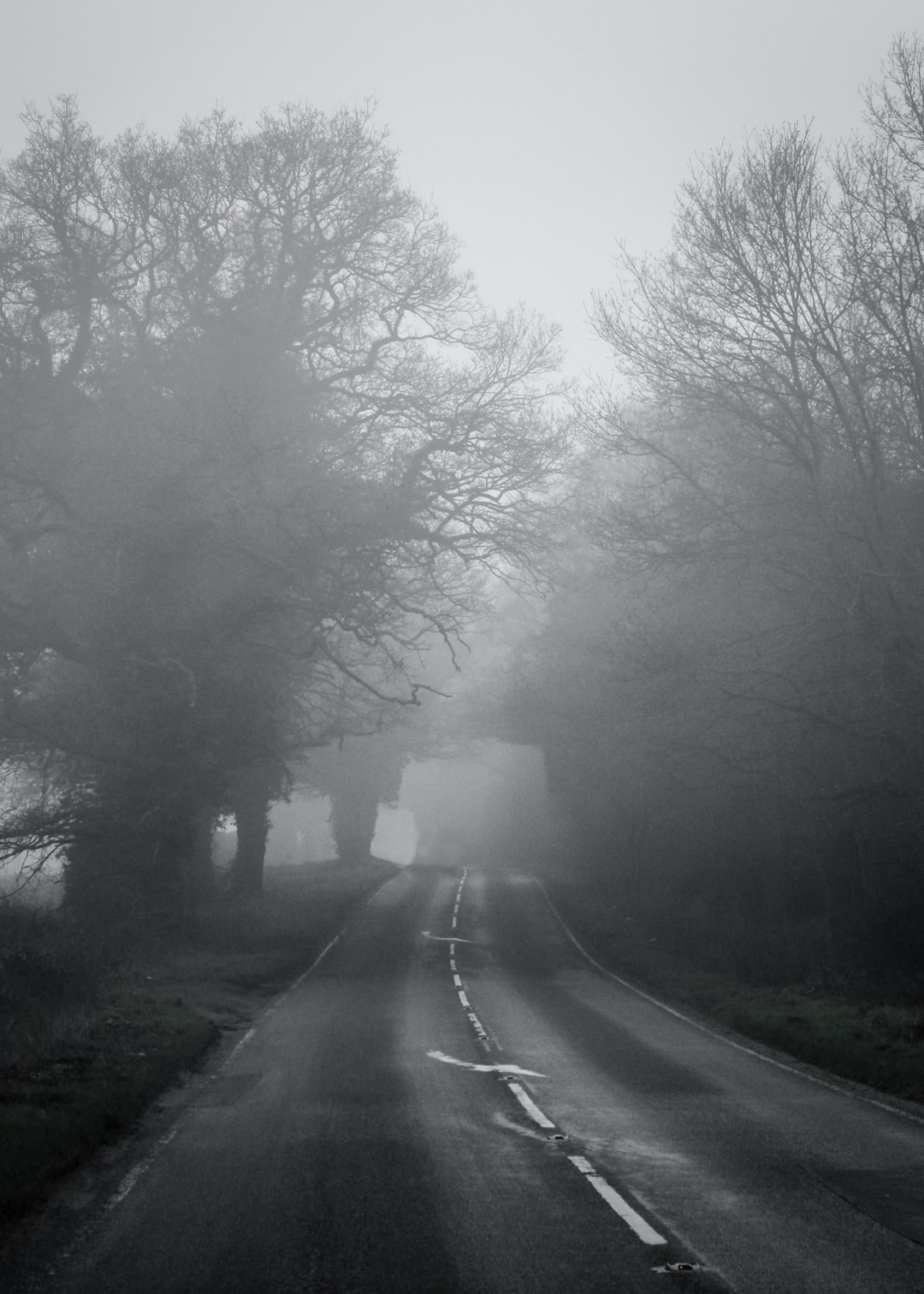 A quiet drive home..