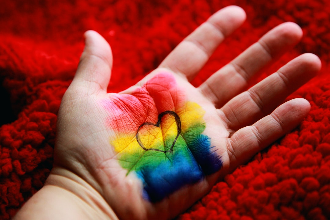 LGBTQIA Rainbow Love. Happy Valentine's Day 2020 <3
