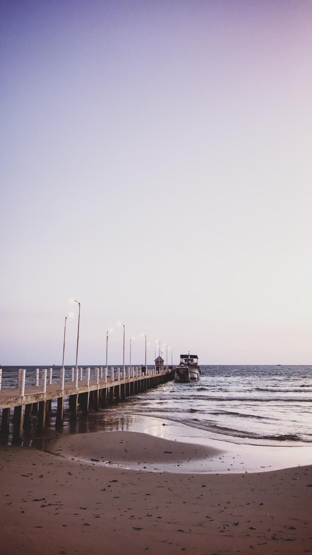 people walking on wooden dock during daytime