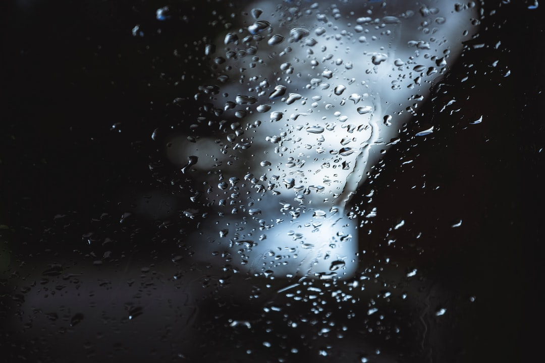 Water Droplets On Glass Window - unsplash