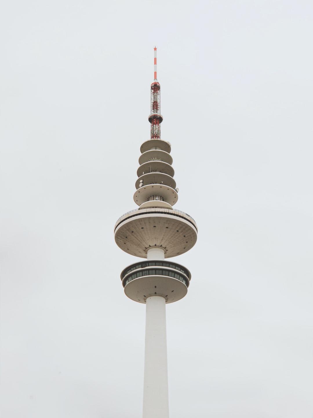 The Heinrich-Hertz-Tower in Hamburg, Germany!