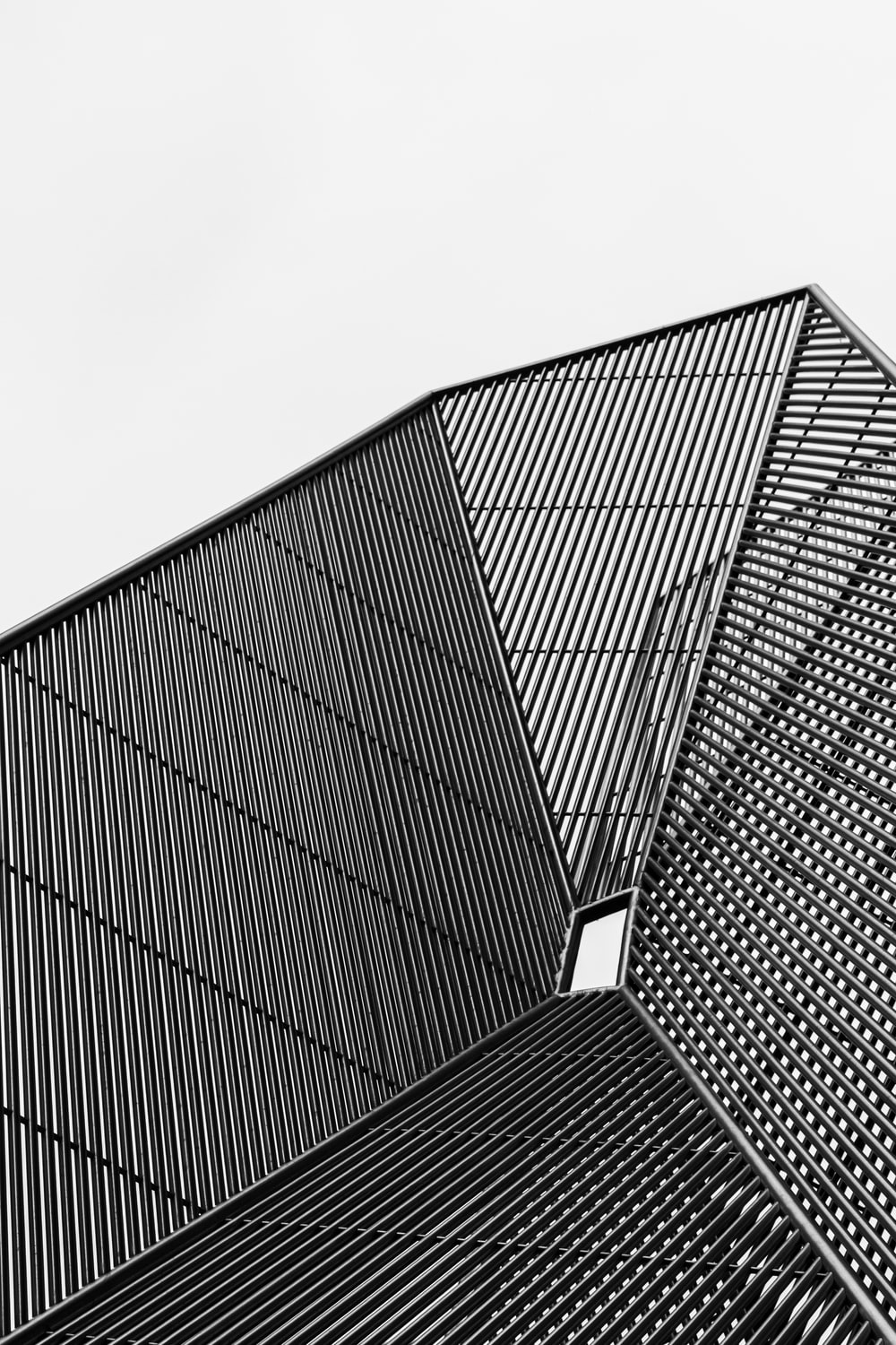 black and white building during daytime