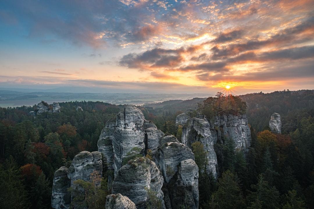 Landscape of the Nature Reserve Hruboskalsko Based In Czechia - unsplash