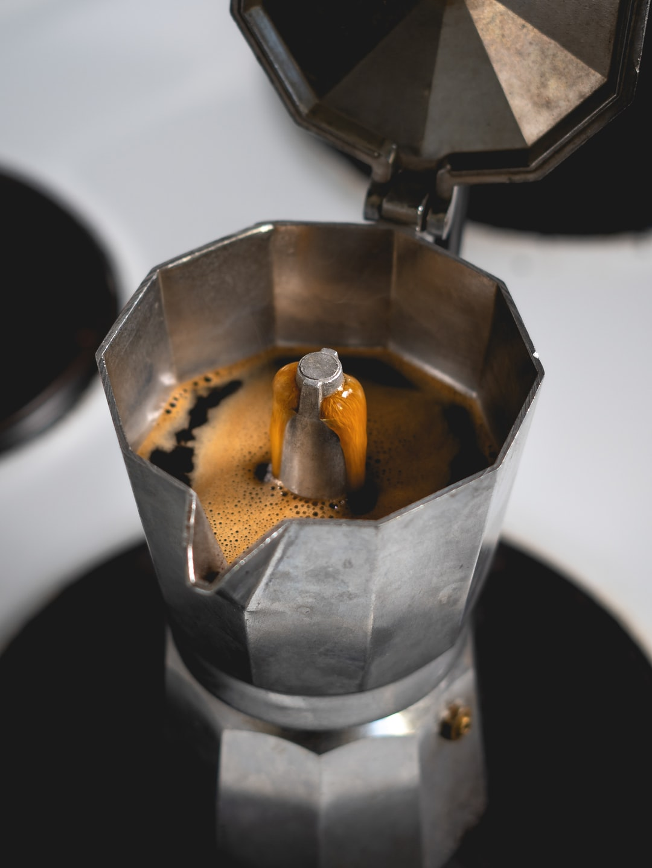 Coffee's ready.