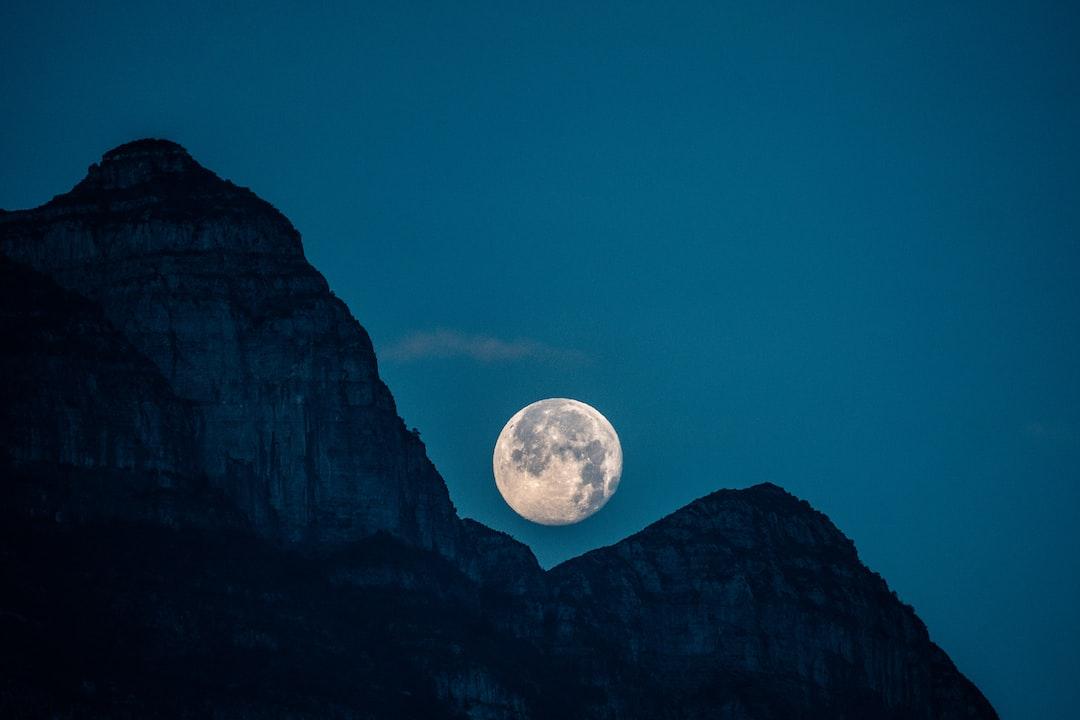 Luna Llena Febrero 2020 - unsplash