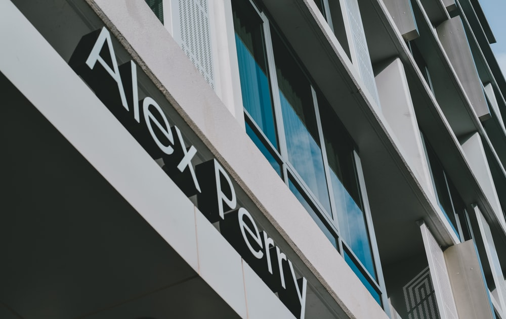 white and black UNK UNK building