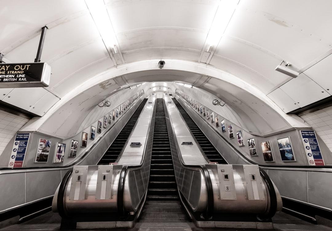 Chancery Lane Escalators - unsplash