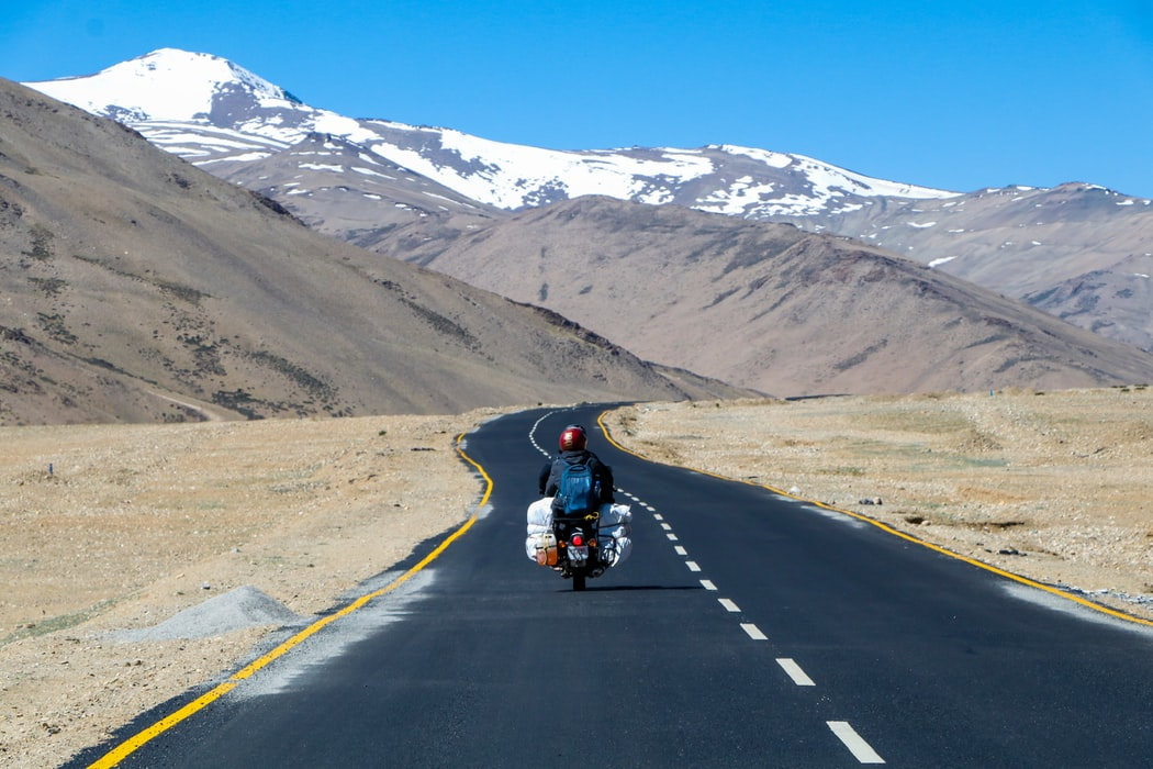 Bike trip travel experience