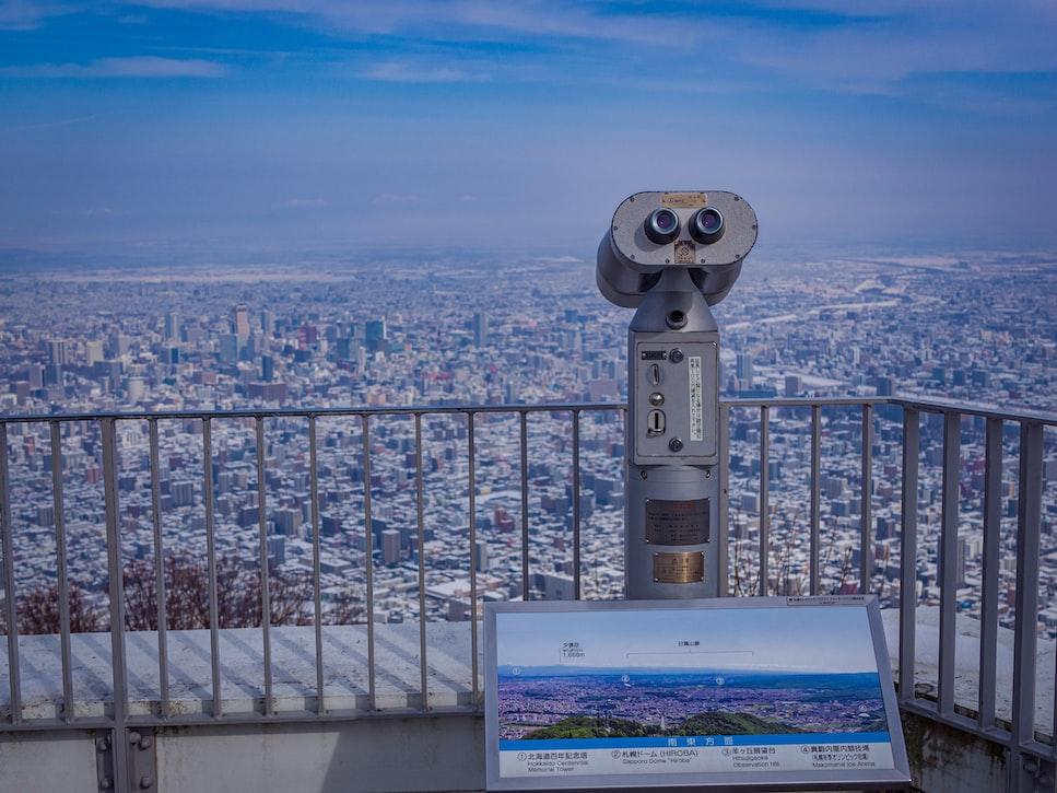 Moiwa mountain in Hokkaido