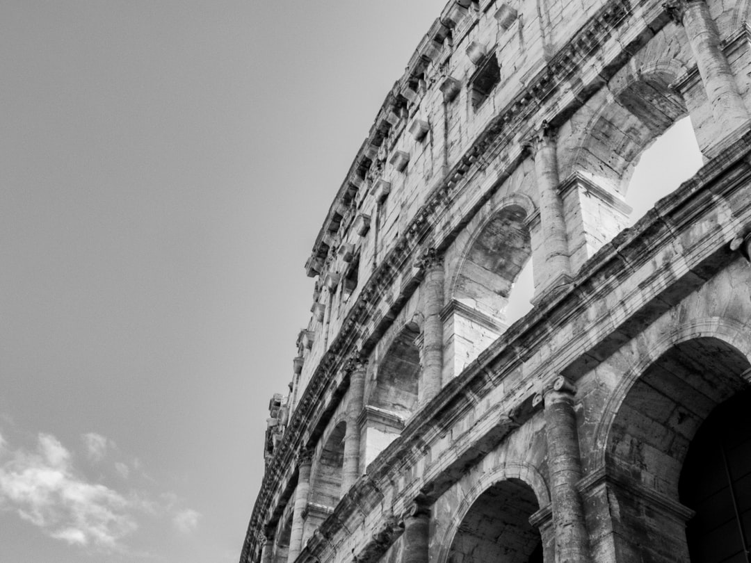 A classic view of the Colosseum in Rome, one of the wonders of the world