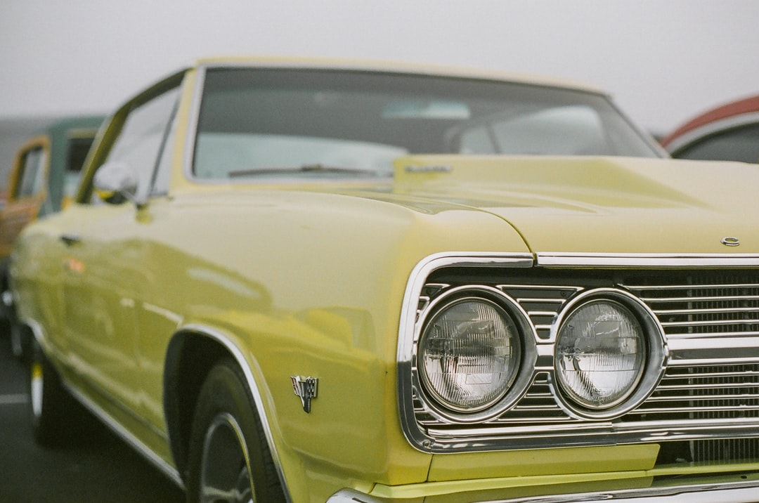 Yellow Car In Close Up Photography - unsplash