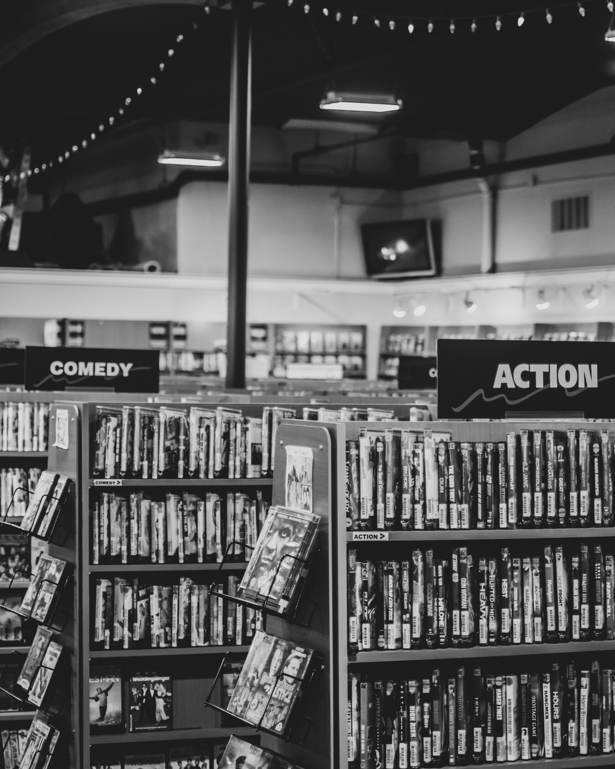 Video Store | Astoria, Oregon